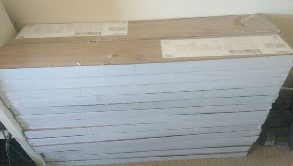Used Ikea Tundra Laminate Flooring For Sale In Brooklyn Letgo