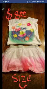 white and pink floral dress Joliet, 60431