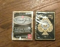 2 packs of playing cards Saucier, 39574