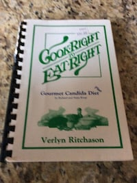 Cook Right to Eat Right book by Verlyn Ritchason Surrey, V4N 0B7