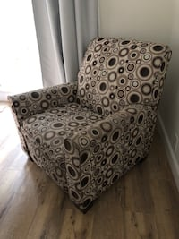 gray and black fabric sofa chair Los Angeles, 90035