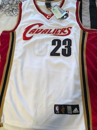 Basketball jerseys - Lebron James/Carmelo Anthony Ajax, L1T 4X5