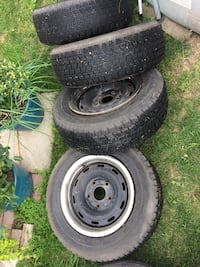 Winter tires & Rims off Late 90s early 2000 Dodge Ram Calgary, T2A 6S3