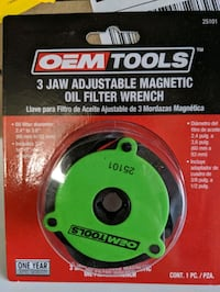 Oem Tools 3 Jaw Oil Filter Wrench Brooklyn Park