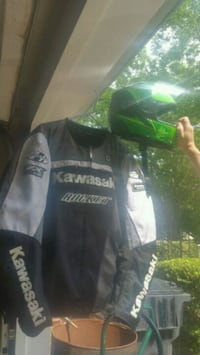 black and green helmet and zip-up jacket Lawrenceville, 30043