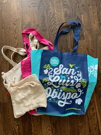 Reusable, eco-friendly shopping bags AND produce bags Chicago, 60605