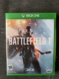 Battlefield 1 Xbox One game  Woodbridge Township, 07095