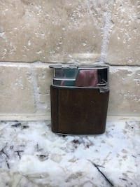 Collectors must have  Vintage Ronson Leather Wrapped VaraFlame ~ Brown 40 km