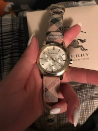 Burberry chronographic watch 536 km