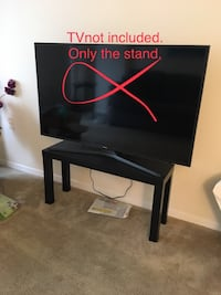 "TV stand (55"" TV not for sale)"