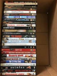 Various DVDs (movies and a few tv shows).