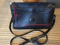 Dooney&Bourke black leather purse