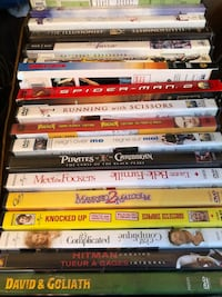DVD movies $1 each buy10 get 1free, over 100 movies Romance, Comedy ++ Vancouver, V5R 5J4