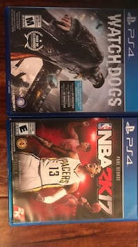Nba 2k 17 and watch dogs Surrey, V4N 2P4