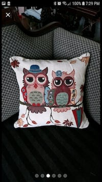 Sophisticated Owls pillow case 18 inches  South Riding, 20152