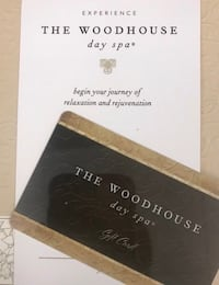$250 Woodhouse Spa Giftcard