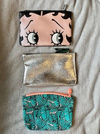 Ipsy Cosmetic Bags