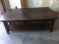 Brown coffee table Las Cruces, 88011