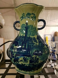 Antique Ironstone Pottery Vase Over 100 Years Old