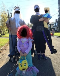 Little mermaid costume family  Berkeley Heights, 07922