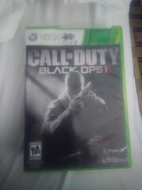 Xbox 360 Call of Duty Black Ops 2 game case Tempe, 85281