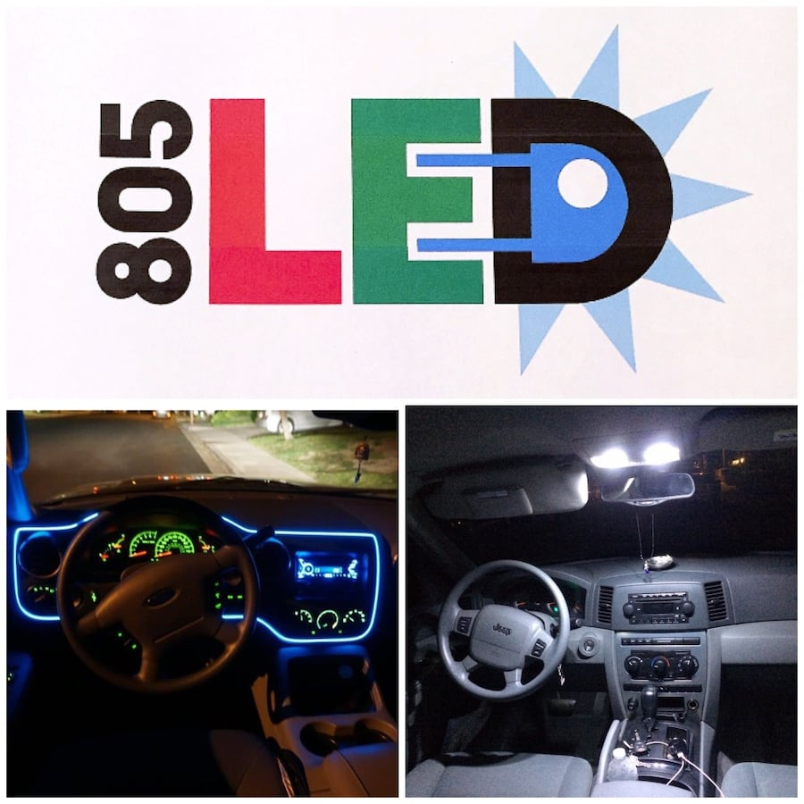 805LeD/Cars/Mobile/HeadLamps/Interiors