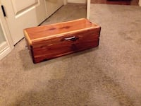 Cedar Chest(size of a tool box) Fayetteville, 72701