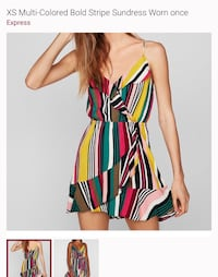 Multicolored Striped Express dress Oxnard, 93036