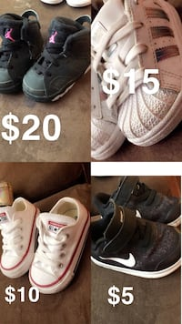 4 toddler shoes  Conroe, 77303