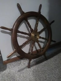 Decorative Ship's Wheel Quincy