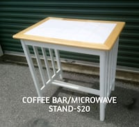 COFFEE BAR &/OR MICROWAVE TABLE  Fayetteville, 28303