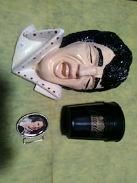 Vintage Elvis Presley items Hedgesville