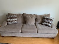 Sofa - 2 piece fabric