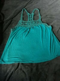 teal and white tank top Valley Township, 19320