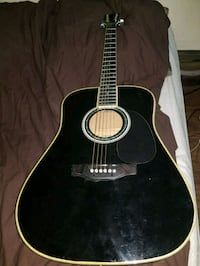 black and brown acoustic guitar Queens, 11385