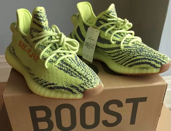 12a7ec177e10d Used Yeezy Boost 350 V2 Semi Frozen Yellow for sale in West Covina ...