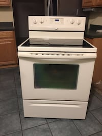 white and black induction range oven Silver Spring, 20906