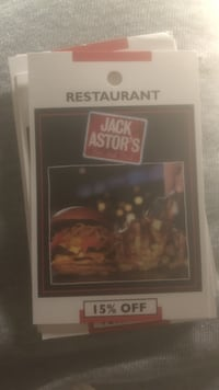 JACK ASTORS 15% coupon Brampton, L6V 3C6