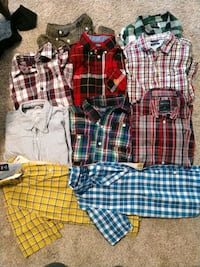 Boys size 10-12 dress shirts Griffin