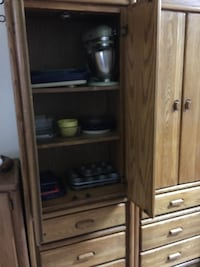 Brown wooden cabinet with drawer Albuquerque, 87113