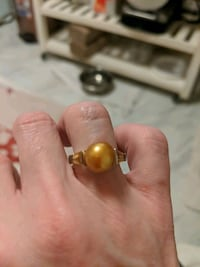 silver Honora pearl ring with citrine gemstones Lansdowne, 21227