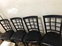 black steel padded chairs Pittsburgh, 15224