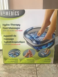 Homediscs hydro therapy foot massager Mississauga, L5W 1S7
