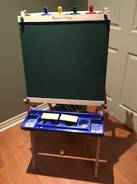 Double sided chalk board & coloring wall Laval, H7W 0A3