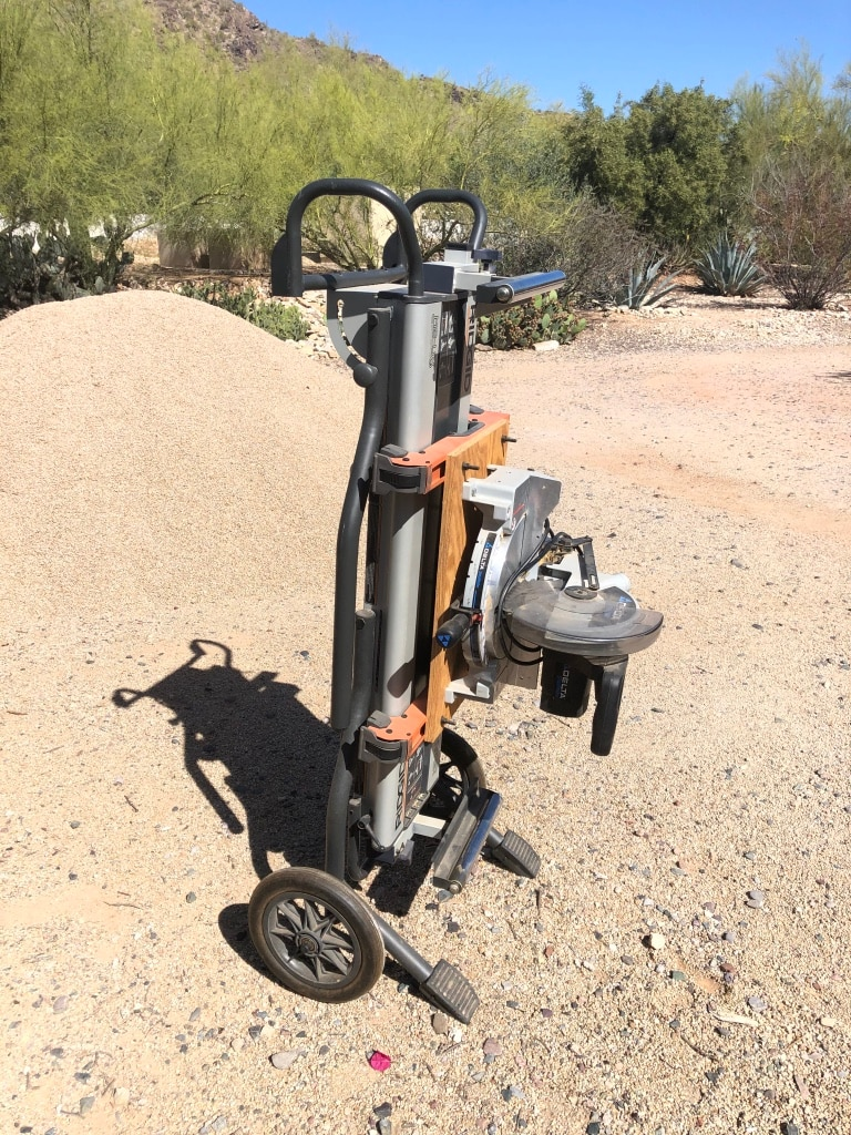 Photo MSUV - Miter Saw Utility Vehicle (like new)