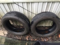 I HAVE 2  225/60/18 TIRES WITH GOOD TREAD  Garden City, 31408