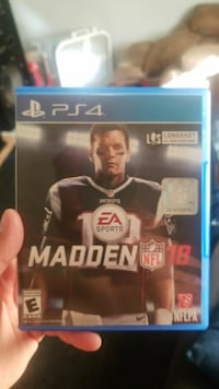 Madden 18 played a couple times in New condition Moriarty, 87035