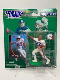 Vintage Houston Oilers/Tennessee Titans/Ohio State Buckeyes/NFL Legend Eddie George STARTING LINEUP ACTION FIGURES (Choice of 1) [Brand New]