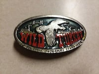 4 inch wild Turkey belt buckles
