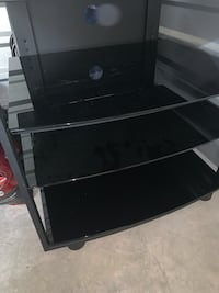 Stereo Equipment stand glass